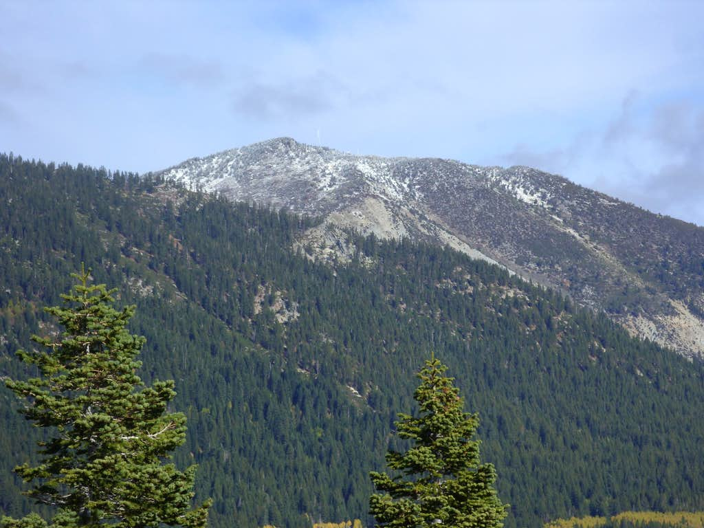 Slide Mountain from the southeast