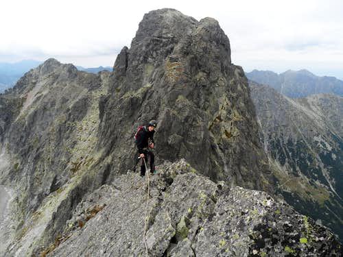 Mienguszowiencki Szczyt Posredni ridge