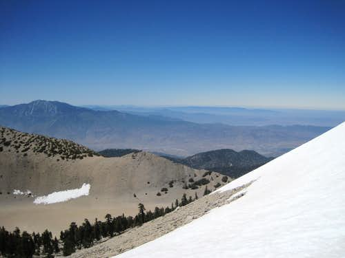San Jacinto from San Gorgonio
