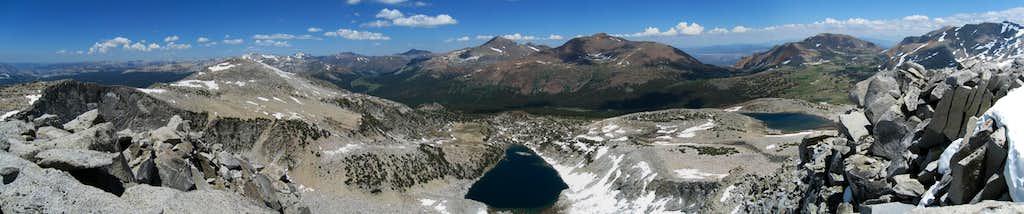 Parker Pass Creek Panorama