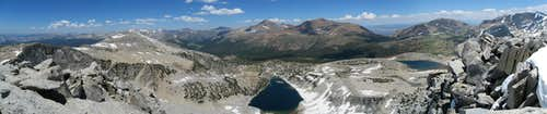 Parker Pass Creek Panorama