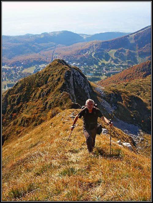 On the SE ridge of Cimon dei Furlani
