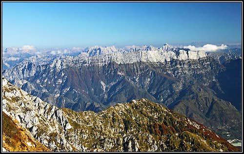The view from below Cimon dei Furlani