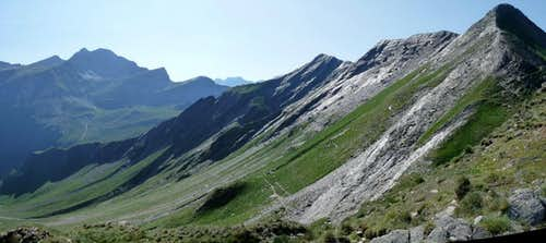 Panorama from Pic de l Aiguillette (2517 m)