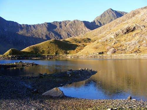 Snowdon from the Miners\' Track