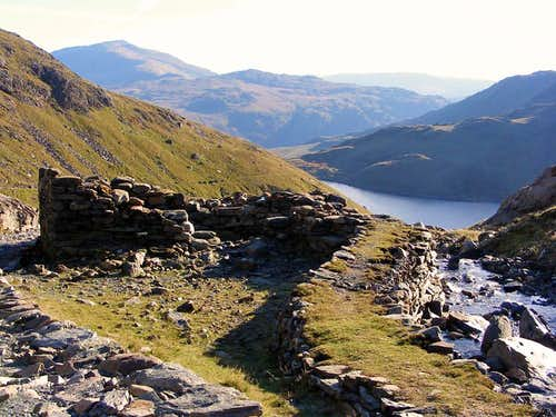 View from Snowdon's Miners' Track