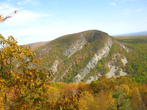 Mt. Tammany in the Fall