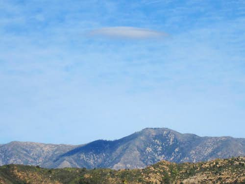 Lenticular Cloud over Junipero Serra