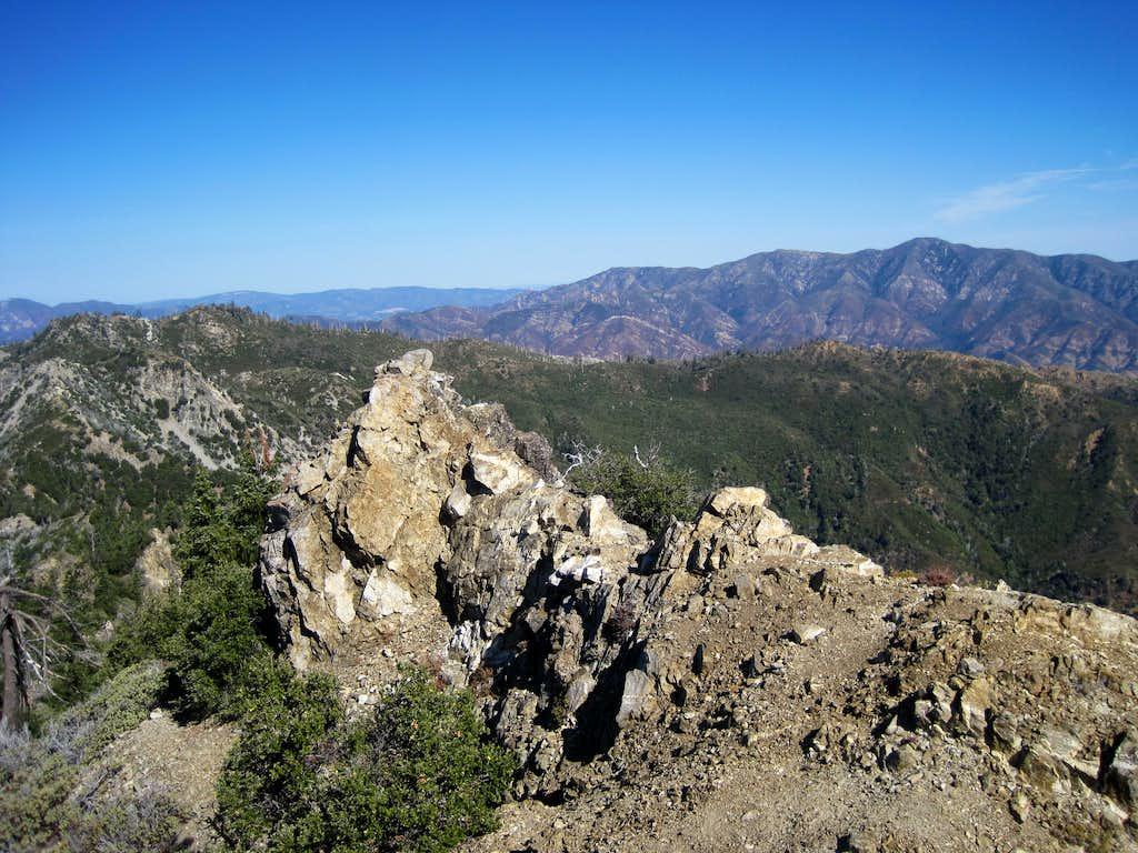 Junipero Serra from Cone Peak