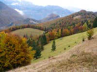 Autumn colours of Marmarosh
