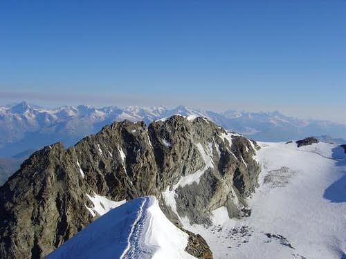 Fletschhorn from summit of...