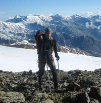 On the east ridge to the Zufallspitze