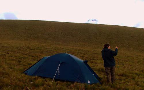 Sincholagua Camp Site.