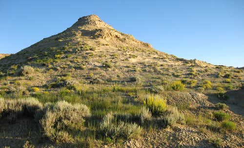 Small Butte Just East of Point 7161T