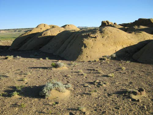 Honeycombed Rocks