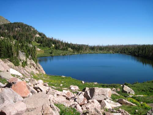 Little Rainbow Lake
