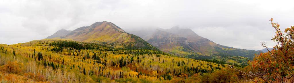 Fall Storms around Mount Timpanogos