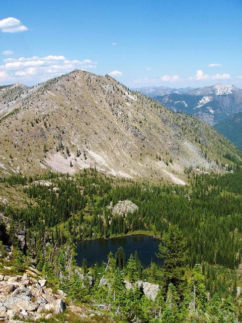 Gypsy Peak and Watch Lake