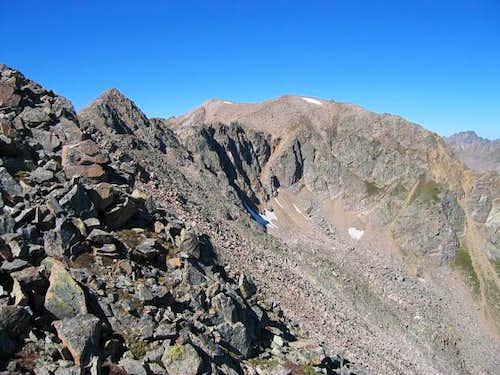 The East Ridge of Keller...