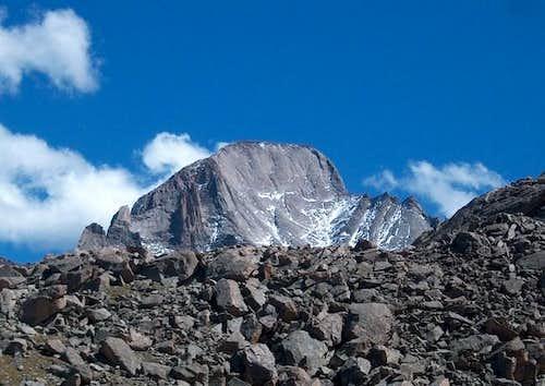 Longs Peak from Shelf Creek Valley