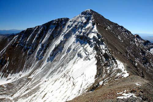 Castle Peak from Conundrum Peak