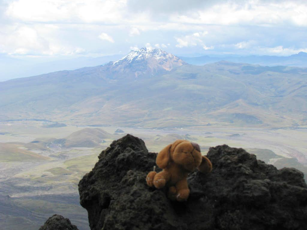 My first time at Cotopaxi National Park
