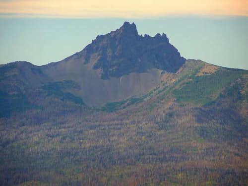 View of Three Fingered Jack...