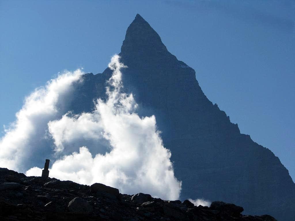 Matterhorn silhouette