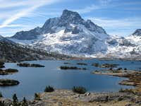 Banner Peak and Thousand Island Lake
