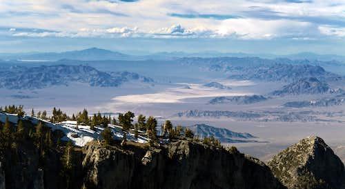 View NE from Mummy Mountain