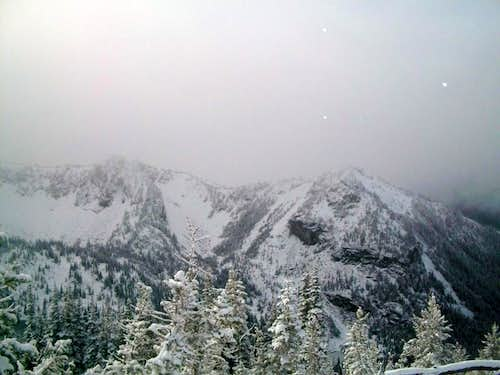 Looking toward Crystal Peak