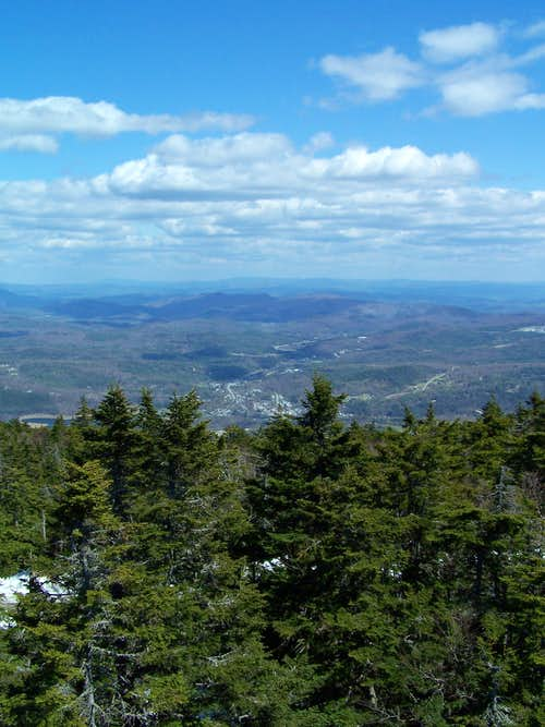 View from Ludlow/Okemo Mtn