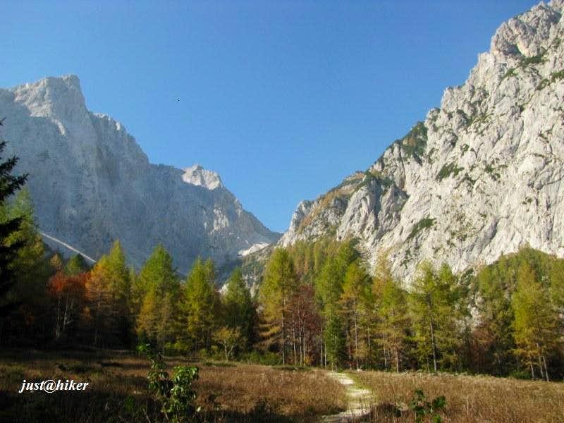 Autumn in Kamnik-Savinja Alps