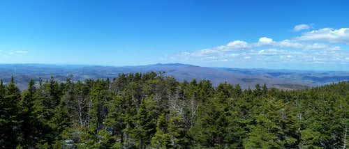 Panoramic View from Ludlow/Okemo Mtn Firetower