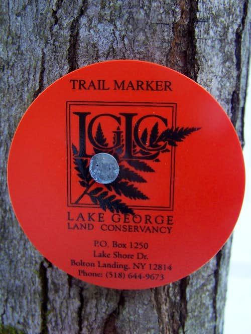 LGLC Trail Marker