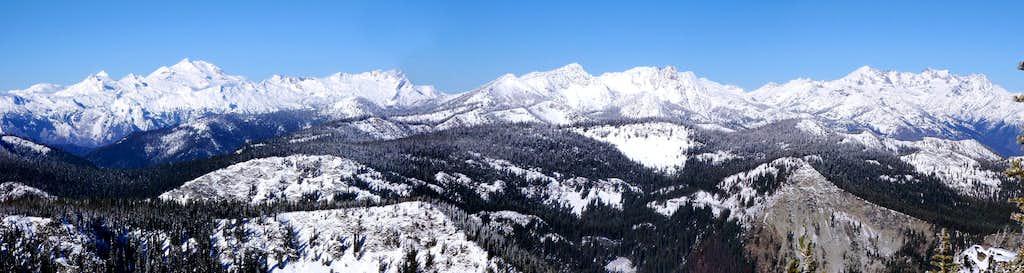 Klone Peak Summit Panorama