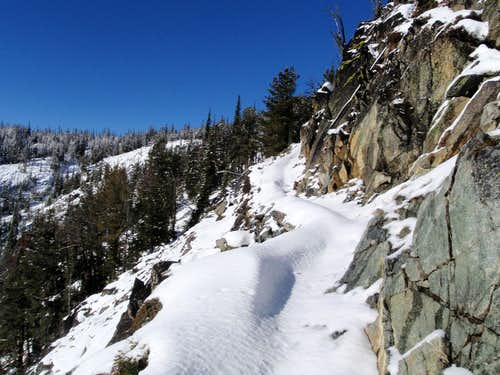 Snowy Ledge