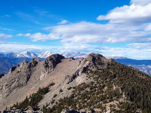 Twin Sisters Peaks