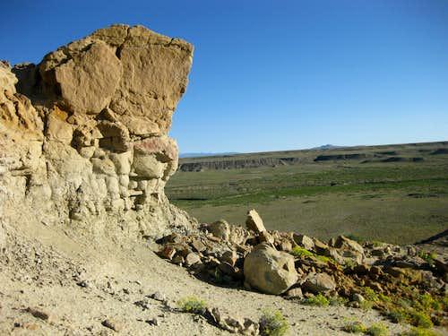 Point 7082T Sandstone Summit Outcrop