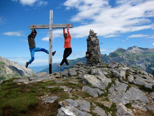 Happy climbers..