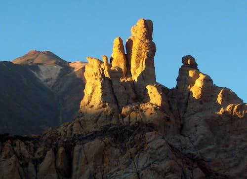 Roques de Garcia and Pico del Teide