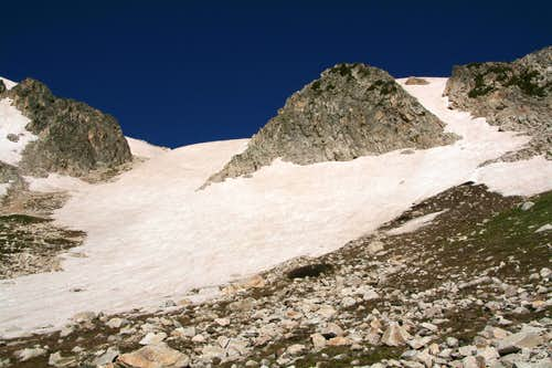 Old Main Couloir (North) and Variation