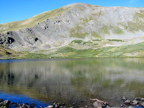 North Face with Ptarmigan Lake