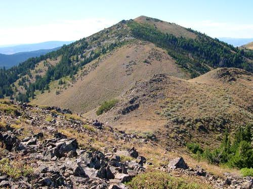Fields Peak as seen from...