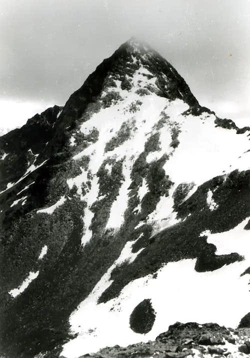 <b> PEAK GARIN (3461m)</b> from <b>Red Point W Summit (3401m)</b> also from <b>North</b> on <b><i>1968</b></i>