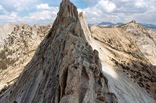 Exposure on the ridge...
