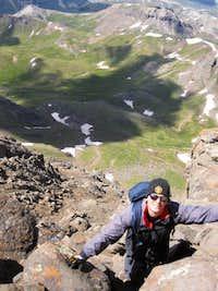 Climbing the Wetterhorn