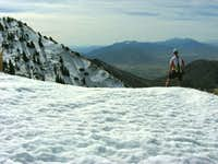 Overlooking Utah Valley from Provo Peak