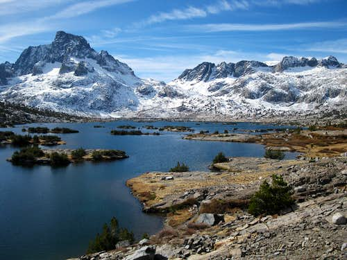 Ritter Range and Thousand Island Lake