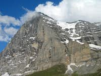 Eiger north face, from Kleine...
